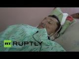 Пострадавший при обстреле остановки в Донецке рассказал о случившемся