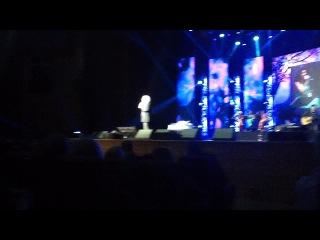 Riccardo Fogli live in Moscow 2014.