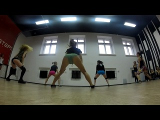 Шошина катя (booty/twerk) - best dance wopkshops one2step! #2
