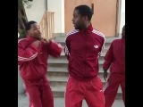 When you're in a dance group and there's an undercover cop (Nigga Vine)
