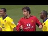 Рууд ван Нистелрой vs Мартин Киоун (2003). МЮ vs Арсенал