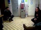 Агрессивные украинские проститутки в полицейском участке подмосковья