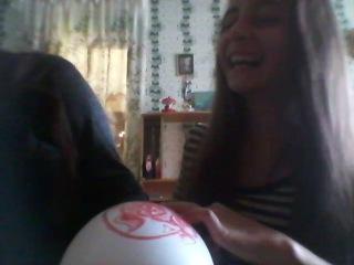 Газовый шарик) ахахах