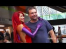 Cosplay Girls: Cosplay Jessica Rabbit PRANK - Bianca Beauchamp pick-up lines at Comic-Con