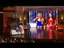 Наташа Королева и Аглая Шиловская Модели Театр эстрады 31 01 2015 Первый канал