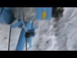 уборка снега мотоблоком на даче