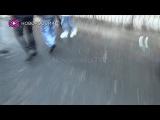 22.01.2015 Армия ДНР привезла пленного киборга на место преступления ВСУ