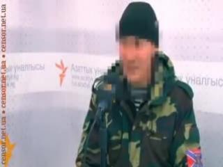 Киргиз Минас воевал добровольцем на Донбассе 2014-2015гг.
