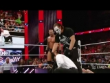 Seth Rollins springs a trap for Randy Orton- Raw, March 16, 2015