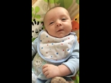 Seven-Week-Old Belfast Baby Says Hello to His Mom
