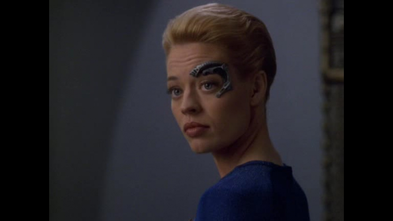 Star Trek: Voyager – Seven of Nine talks about love ENG | Звёздный путь: Вояджер