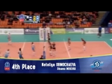 Stars in Motion: Top 5 Most Spectacular Net Actions - Volleyball Champions League Women - PO6 Leg 2