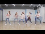 mirrored [dance practice] CLC(씨엘씨) - Pepe (Choreography Practice Video)