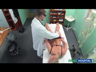 FakeHospital.com: Blonde Patient Wants Hard Sex From Her Doctor (E126) (2015) HD