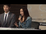 [CHINESE SUB] 150317 Kim Hee Seon 김희선 at Angry Mom press conference