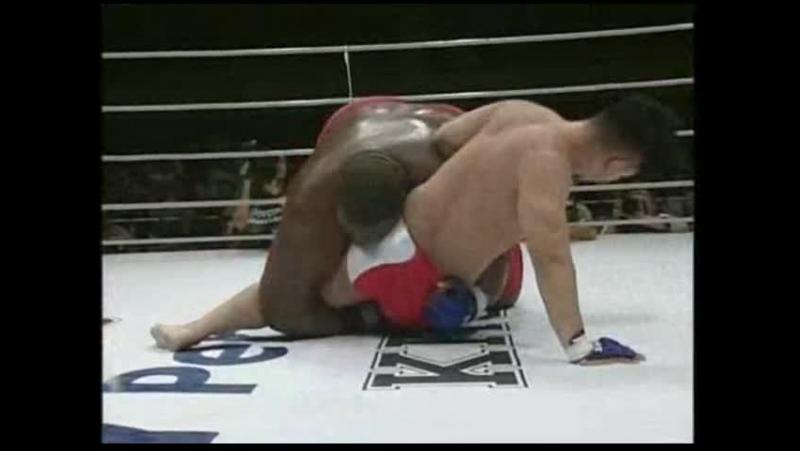 Эмануэль Ярборо-Даджи Такаси Лучшие моменты боя. Прайд 3