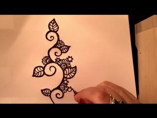 Arabic henna style/Мехенди в арабском стиле