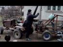 міні кран без гідравліки на міні трактор