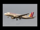 Последняя минута полёта Airbus A-320