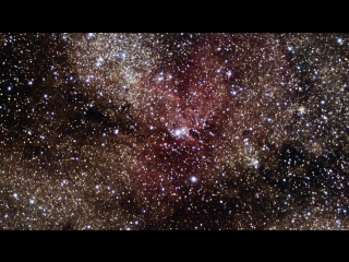 «Полет» к скоплению NGC 6193 и туманности NGC 6188