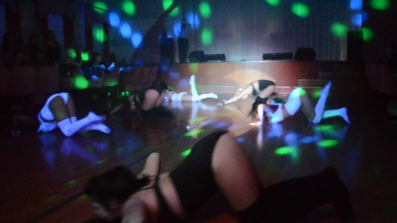 Ангелы и демоны Школа танцев LILU Группа нижний стрип 07 03 15г