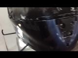 шлем после лакировки
