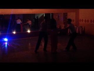 Танго втроем. Танцуют: Гуминский Игорь, Хайдаров Тимур и Панфилушкина Юлия.