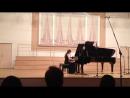 Brahms, Rhapsody op.79 №2 g-moll