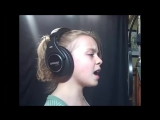 Noelle 9 yrs old girl singing