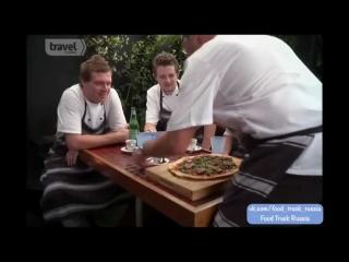 Ресторан на колесах. Сезон 1. Серия 4. Пицца в Пойнт-Шевалье, Окленд.