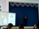 Виступ учня 5 Б класу Дмитра Мухи на педагогічній раді ЗОШ №15