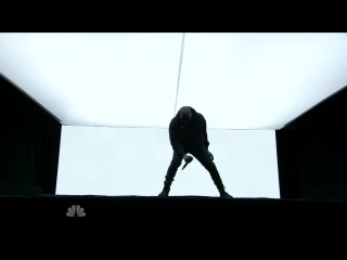 Kanye West - Jesus Walks, Only One & Wolves (feat. Vic Mensa & Sia) (Live on SNL)