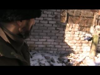 город Углегорск 27 февраля 2015года, последствия обстрела города РСЗО