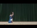 Неворошкина Евгения выступление на конкурсе Александрия 28 02 15г