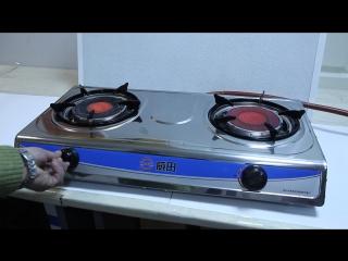 2-конфорочная инфракрасная газовая плита для дачи IRIDA-22