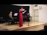 Lera Auerbach - Sonata for Violin and Piano No. 2 September 11