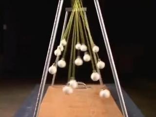 Захват внимания, гипноз маятник шарики гипнотическое видео оптическая иллюзия об