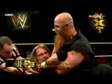 (WWEWM) WWE NXT 05.06.2013 - The Wyatt Family (c) vs. Kassius Ohno & Corey Graves (NXT Tag Team Championship)