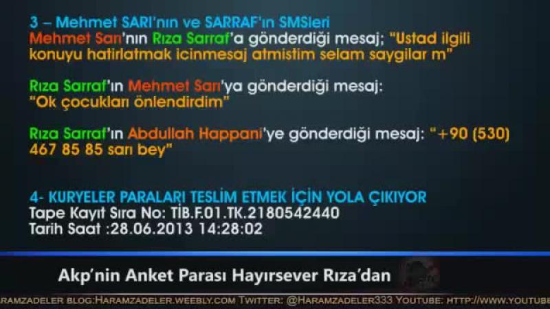 Reza Zarrap AKPnin Anket Parasını Ödüyor