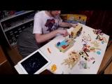 Семичасовая сборка LEGO The Simpsons House - Brickworm