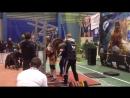 Чемпионат Украины 2015 Гайдученко Людмила, приседание 1-й подход