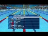 ХХХ Летние Олимпийские Игры 2012. Плавание. День 3. Утро