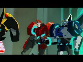 Трансформеры: Скрытые роботы 1 сезон 1 серия (2015) [LE-production]