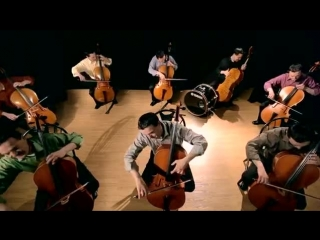 Steven Sharp Nelson - The Cello Song - Bach is back with 7 more cellos