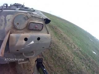 как украинские бойцы учатся уничтожать