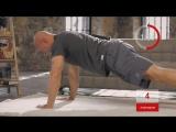 Пресс + ноги - Домашние тренировки с Денисом Семенихиным