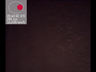 FULL ORBIT: HOW AN ASTRONAUT WILL VIEW MARS FROM ORBIT - WITH DISTANCE COUNTER