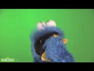 Cookie Monster.OM-NOM-NOM-NOM