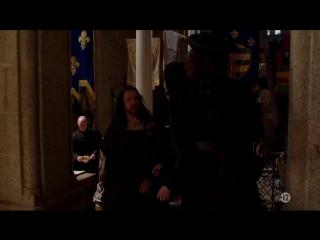Пол Рис в роли Леонардо да Винчи в сериале Борджиа (Франция,Германия). Отрывки.