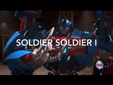Transformers prime music video - SOLDIER